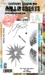 AALL and Create Clear A6 Stamp Set #209